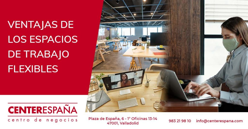 Ventajas de los espacios de trabajo flexibles